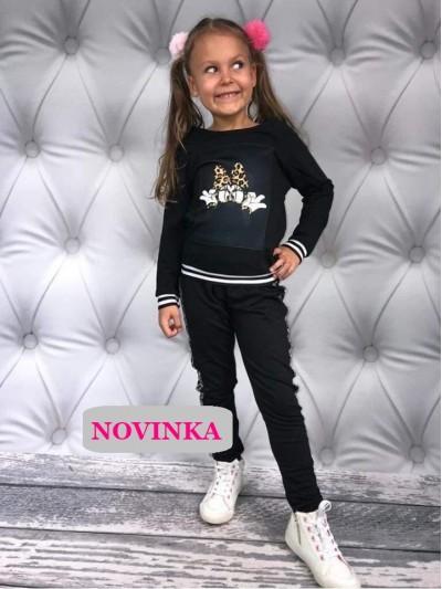 Mikina Minnie černá