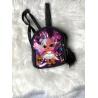 Blikající batůžek Lol černo-fialový