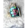Blikající batůžek Lol béžovo-tyrkysový