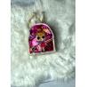 Blikající batůžek Lol béžovo-růžový