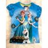 Tričko Frozen Ledové království tyrkysové