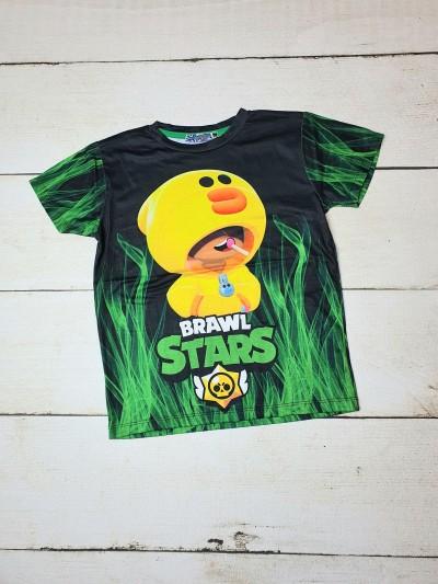 Tričko Brawl Stars zelené