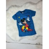 Chlapecké tričko Mickey mouse petrolejové