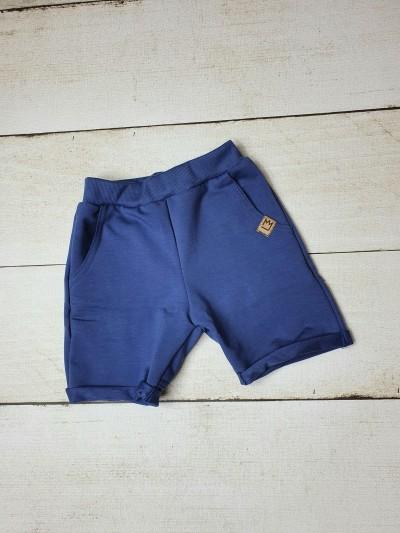 Chlapecké teplákové šortky modré