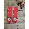 Dámské vánoční ponožky Sob červené