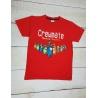 Chlapecké tričko Among Us Crewmate červené