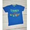 Chlapecké tričko Among Us Crewmate modré