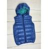 Chlapecká prošívaná vesta modrá