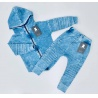 Despacito Acid baggy tepláky modré