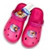 Crocsy Frozen tmavě růžové