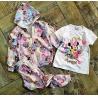 Minnie trojkomplet - mikina, tričko a tepláky