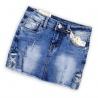 Dívčí jeans sukně