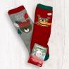 Dětské vánoční ponožky 2 duopack