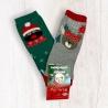 Dětské vánoční ponožky 4 duopack