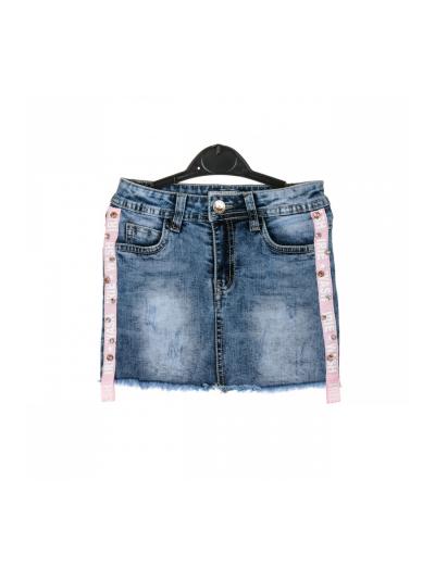 Dívčí jeans sukýnka