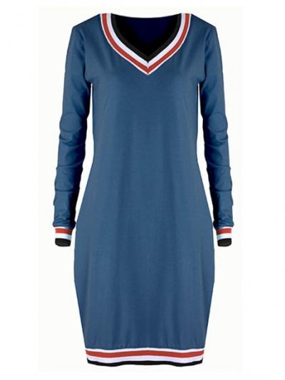 Šaty Comfort modré