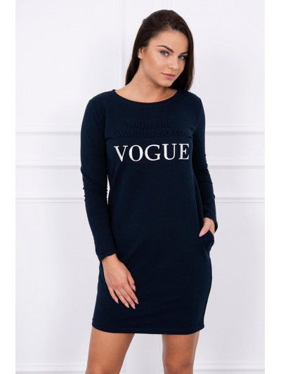Šaty Vogue navy