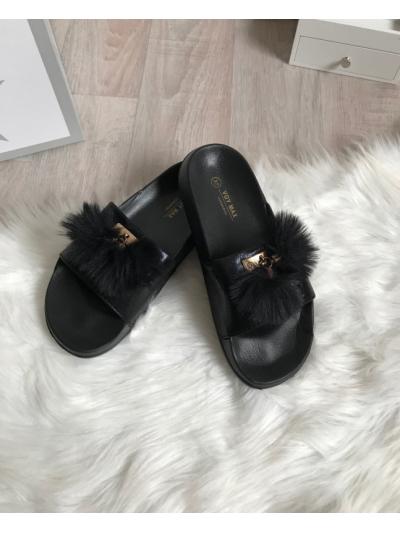 Pantofle Style černé