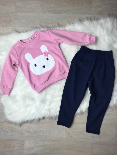 Dívčí tepláková souprava/komplet Bunny
