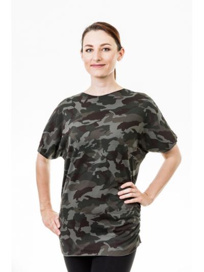 Tričko army zelené