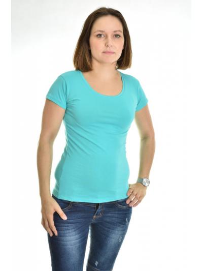 Tričko Classic tyrkysovo-zelené