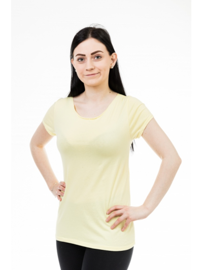 Tričko style žluté