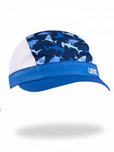 Chlapecká letní čepice/kšiltovka Žraloci modrá 2