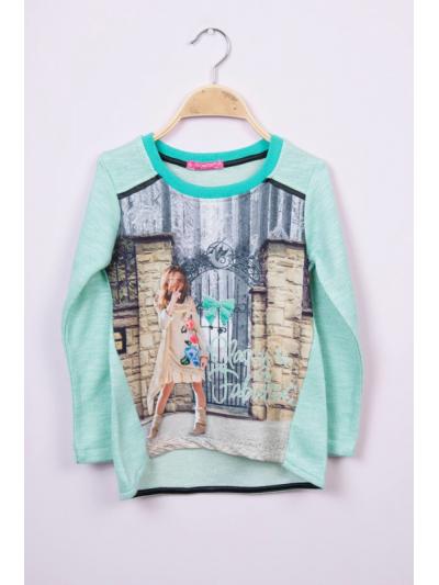 Dívčí mikina Dream mint