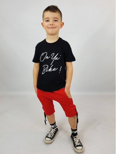 Chlapecké tričko Bike černé