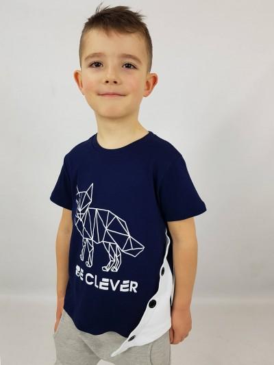 Chlapecké tričko Clever modré